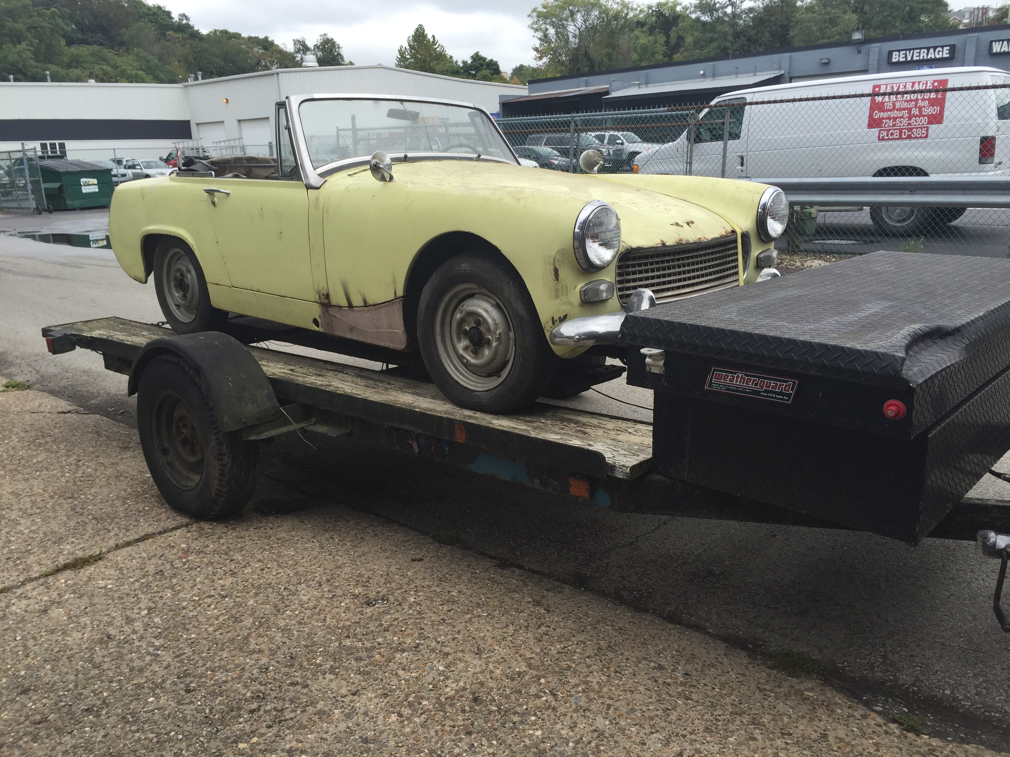Austin Healey Sprite – Vintage Sports and Specialty Cars